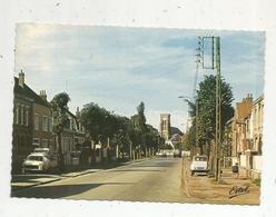 Cp, Automobiles ,CITROEN  2 CV , PEUGEOT 404 ,  59 , LOON-PLAGE, Rue Nationale,  Voyagée1975 - Passenger Cars