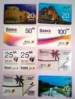 Lot Numéro 3 De Cartes Prepayées D'Arabie Saoudite. - Saudi Arabia