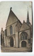 1915 - Provins - Eglise Sainte Croix - Carte Envoyé Service Des Armées à Quartier Larriboisière - Provins