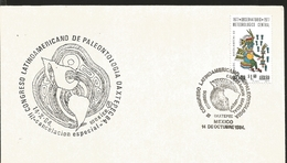 J) 1977 MEXICO, III LATIN AMERICAN CONGRESS OF PALEONTOLOGIA OAXTEPEC, CENTRAL METEOROLOGICAL OBSERVATORY, TLALOC, FDC - Mexico