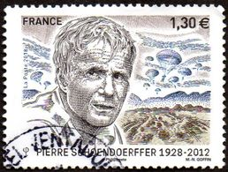 Oblitération Cachet à Date Sur Timbre De France N° 5265 - Cinéaste De Guerre, Pierre Schoendoerffer. (parachutistes) - France