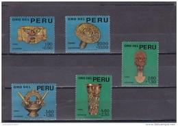 Peru Nº 472 Al 476 - Perú