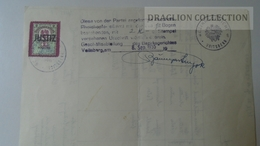 S0518 Österreich -Taufschein Krstni List - Voitsberg 1955 / 2 Schilling Revenue Stamp - Nacimiento & Bautizo