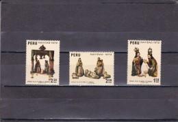 Peru Nº 574 Al 576 - Perú