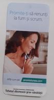 ROMANIA-CIGARETTES  CARD,NOT GOOD SHAPE,0.90 X 0.43 CM - Ohne Zuordnung