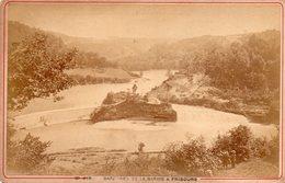 Photo Ancienne Sur Carton - Barrage De La Sarine à Fribourg ( Dim 16x10 Cm) - Photos