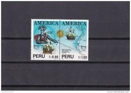 Peru Nº 991 Al 992 - Perú