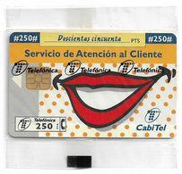 Spain - Telefónica - Servicio De Atencio Al Cliente - P-252 - 03.1997, 7.000ex, NSB - España