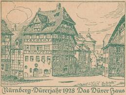 Allemagne 1928. Entier Touristique, Maison Dürer à Nuremberg - Other