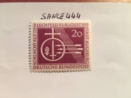 Germany Lechfeld Battle 1955 Mnh - [7] Federal Republic