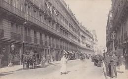 75 PARIS. CPA. ANIMATION RUE MARBOEUF.  + TEXTE - Arrondissement: 13