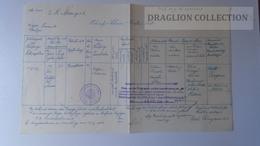 S0519 Österreich -Taufschein Krstni List - GRAZ  1938 - Nacimiento & Bautizo