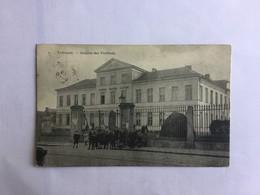 TIENEN  TIRLEMONT  HOSPICE DES VIEILLARDS     MET VOLK   BERTELS N° 2 - Tienen