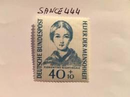 Germany Welfare Florence Nightingale 1955 Mnh - [7] Federal Republic