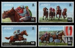 Jersey 2013 - Mi-Nr. 1724-1727 ** - MNH - Pferde / Horses - Jersey