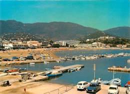 Automobiles - Voitures De Tourisme - Cavalaire - Perspective Sur La Plage - Voir Scans Recto-Verso - Toerisme