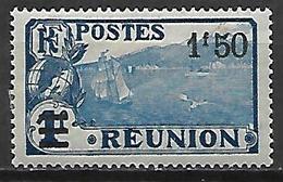 REUNION   -    1924 .   Y&T N° 105 *.  Surchargé - Neufs