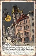 BOZEN ITALY~TORGGLHAUS KOMM'ICH HERAUS Wie WUNDERLICH SIEHST Du MIR AUS-ARTIST COMIC 1905 POSTCARD 40954 - Bolzano (Bozen)
