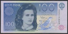 Estonia 100 Krooni 1991 P74a UNC - Estland