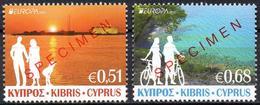 CYPRUS 2012 - SPECIMEN MUSTER MUESTRA - Europa Tourism Tourisme Tourismus Turismo - Europa-CEPT
