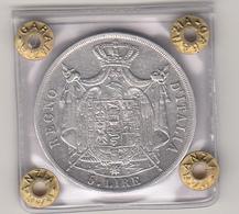 Napoleone Imperatore, Regno D'Italia Lire 5 Arg. Anno 1812 -  Zecca Di Milano - Cons. BB - Monedas Regionales