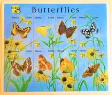 # Ghana 1999**Mi.2957-64  Butterflies ,MNH  [14;9] - Schmetterlinge