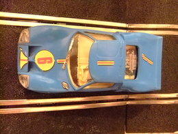 Scalextric Exin Ford GT Ref. C 35 Azul  N 6 Made In Spain - Circuitos Automóviles