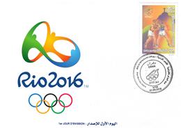 DZ Algeria 1747 Olympic Games Rio De Janeiro Brazil 2016 Sport - Summer 2016: Rio De Janeiro