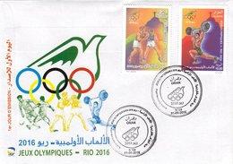 DZ Argelia 1747 Juegos Olímpicos Rio De Janeiro Brasil 2016 Deporte - Verano 2016: Rio De Janeiro