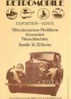 Automobiles - Voitures De Tourisme - Affiche Retro Mobile 1976 - Rolls Royce 1936 - Coupé Chauffeur - Carte Neuve - Voir - Voitures De Tourisme