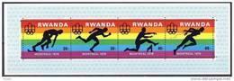Rwanda Ruanda 1976 OCBn° Bloc 68 *** MNH Cote 5,00 Euro Sport - Rwanda