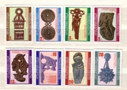 1976  ANTIQUITY Thrace - Art  8v.- MNH  BULGARIA / Bulgarie - Arqueología