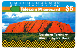 AUSTRALIA - Northern Territory/Uluru-Ayers Rock(T8C2-2), Tirage 50000, Used - Landscapes