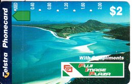 AUSTRALIA - Aerial View, Fuji Image Plaza(complimentary Card), Tirage 50000, Used - Landscapes