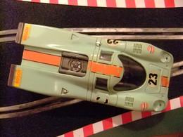 Scalextric Exin Porsche 917 Ref. C 46 Azul N 23 Made In Spain - Circuitos Automóviles