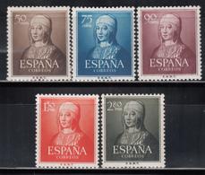 1951  Edifil Nº 1092 / 1095  MNH - 1951-60 Nuevos & Fijasellos