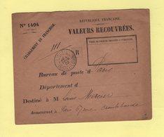 Chargement En Franchise - Valeurs A Recouvrer - Ligueil - Indre Et Loire - 4 Fevr 1902 - 1877-1920: Période Semi Moderne