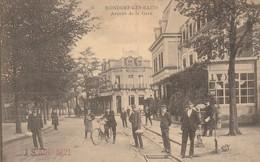 Mondorf Les Bains , Avenue De La Gare ,( N. Schumacher  ,n° 252 ) Rail Du Tram , Aiguillage - Mondorf-les-Bains