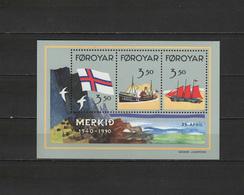 Foroyar 1990 Ships S/s MNH - Schiffe