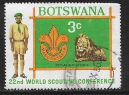 Botswana Scott # 51 Used Boy Scouts, 1969 - Botswana (1966-...)