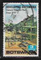 Botswana Scott # 58 Used Mining, 1970 - Botswana (1966-...)