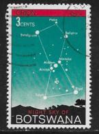 Botswana Scott # 84 Used Night Sky, Orion, 1972 - Botswana (1966-...)