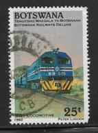 Botswana Scott # 515 Used Locomotive, 1993 - Botswana (1966-...)