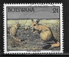 Botswana Scott # 519 Used Spring Hares, 1992 - Botswana (1966-...)
