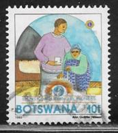 Botswana Scott # 544 Used Lion's International, 1993 - Botswana (1966-...)