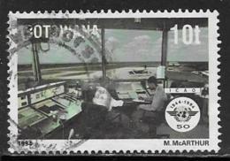 Botswana Scott # 566 Used ICAO Anniv., 1994 - Botswana (1966-...)
