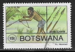 Botswana Scott # 578 Used Spear Fishing, 1995 - Botswana (1966-...)