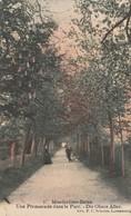 Mondorf Les Bains , Une Promenade Dans Le Parc , Die Obere Allee,( P.C. Schoren ,n° 7  ) - Mondorf-les-Bains