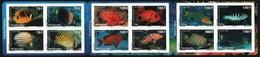 Franz. Polynesien 2009 - Mi-Nr. 1082-1093 ** - MNH - Heftchen - Fische / Fish - Booklets
