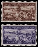 Russia / Sowjetunion 1949 - Mi-Nr. 1399-1400 ** - MNH - Viehzucht - 1923-1991 UdSSR
